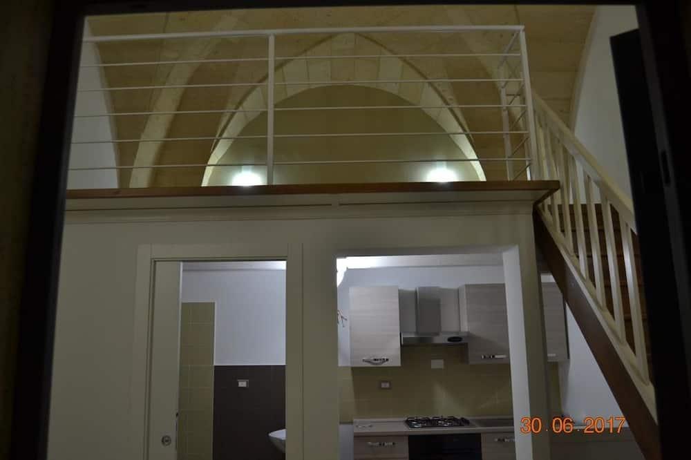 Dvojlôžková izba, kuchynka - Hosťovská izba