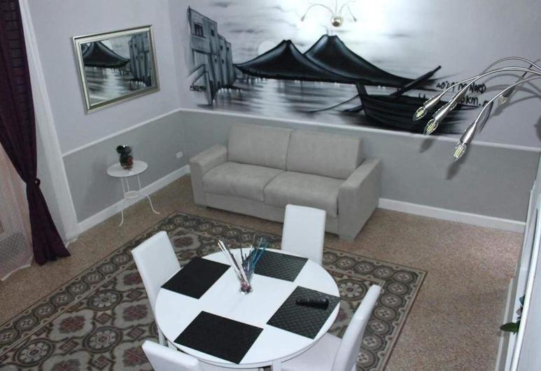 B&B La Torretta di Chiaia, Napoli, Duplex – superior, balkong, Oppholdsområde