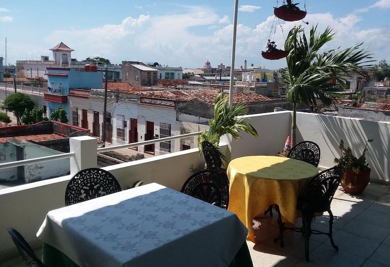 Hostal Marina, Cienfuegos, Terasa