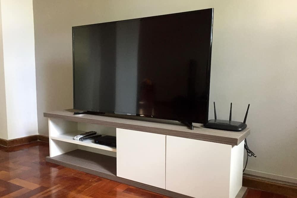 Paaugstināta komforta dzīvokļnumurs, divas guļamistabas - Dzīvojamā istaba