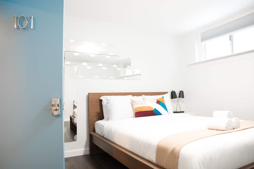 ห้องอีโคโนมี, เตียงควีนไซส์ 1 เตียง - ห้องพัก