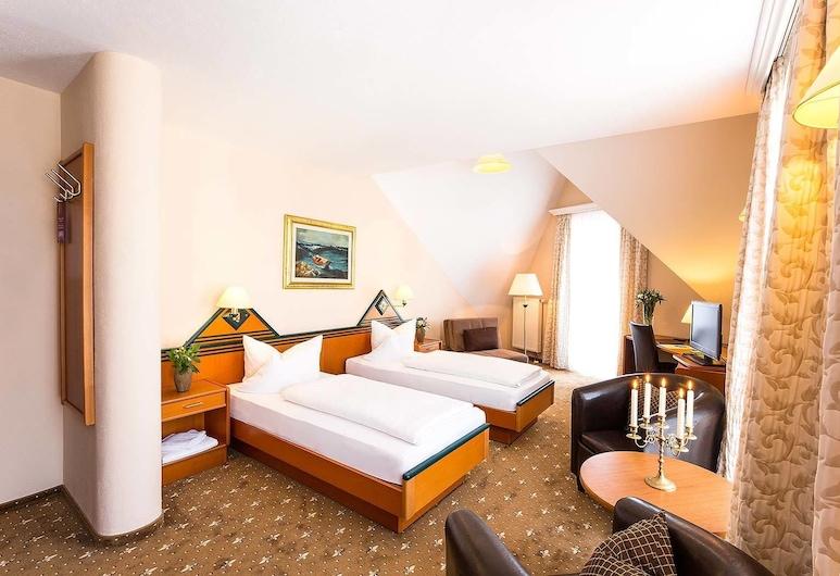 Ambient Hotel Tassilo, Dingolfing, Single Room, Guest Room