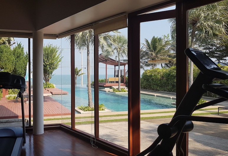 Pranaluxe Pool Villa Holiday Home, Pran Buri, Luxusný bazén