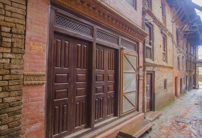 Hotel Sweet Home, Bhaktapur, Průčelí hotelu