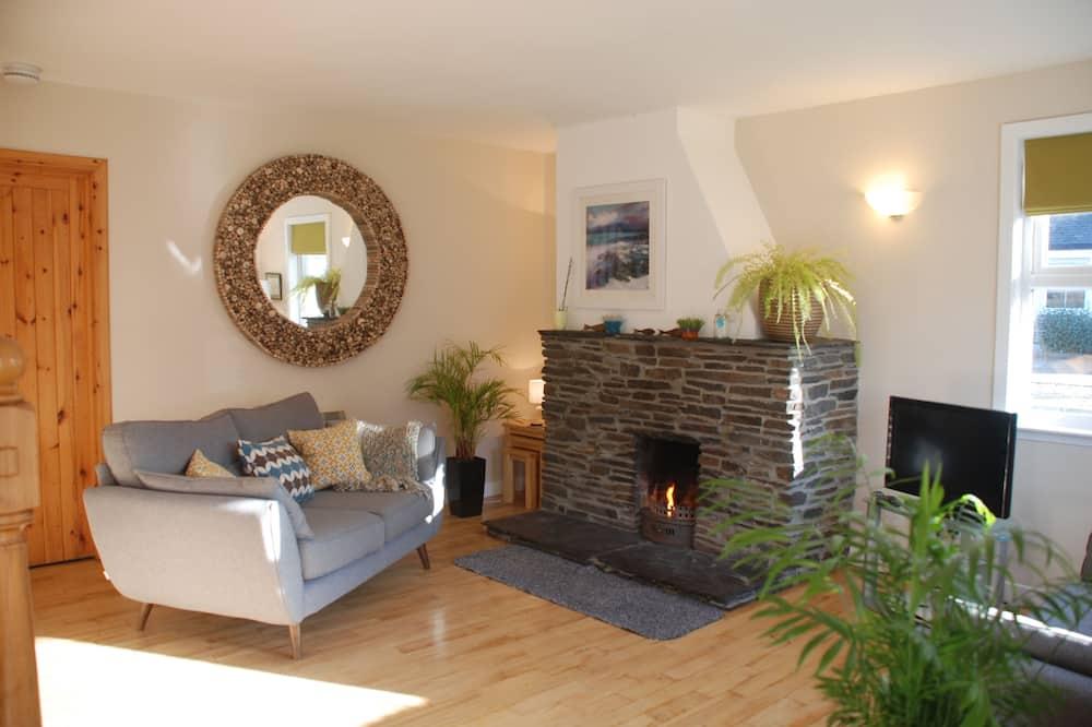 Rekreačná chata - Obývacie priestory