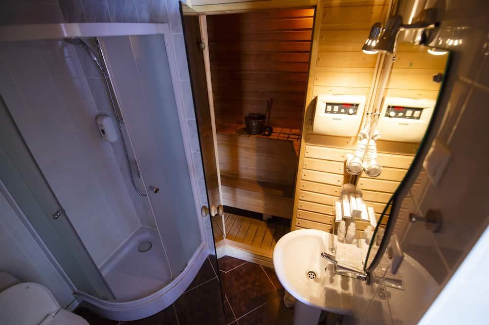 豪華雙人房, 1 張標準雙人床, 三溫暖 - 浴室