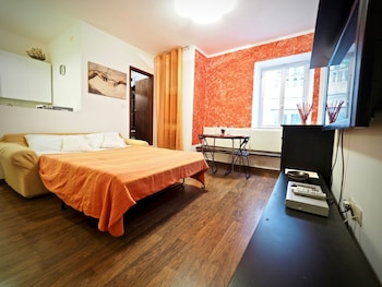 Naktsmītnes Studio Rosso San Luca Zona Acquario attēls vietā Dženova