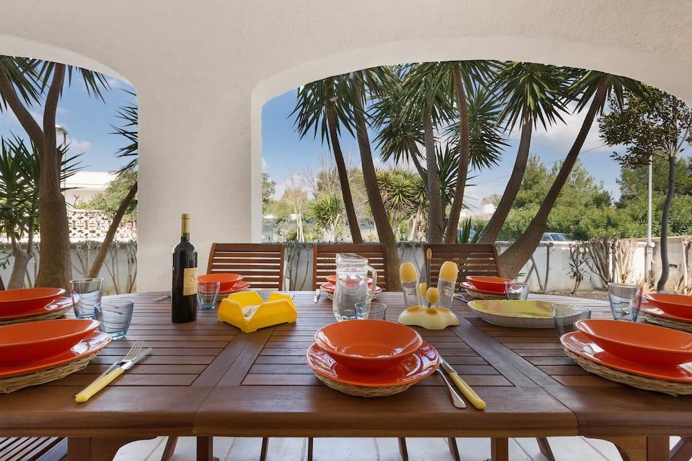 Villa estándar, 3 habitaciones - Terraza o patio