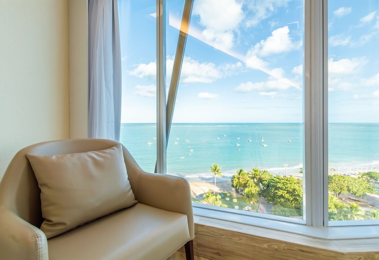 Hotel Brisa Suites, Maceio, PREMIUM FRENTE MAR CASAL, Hosťovská izba