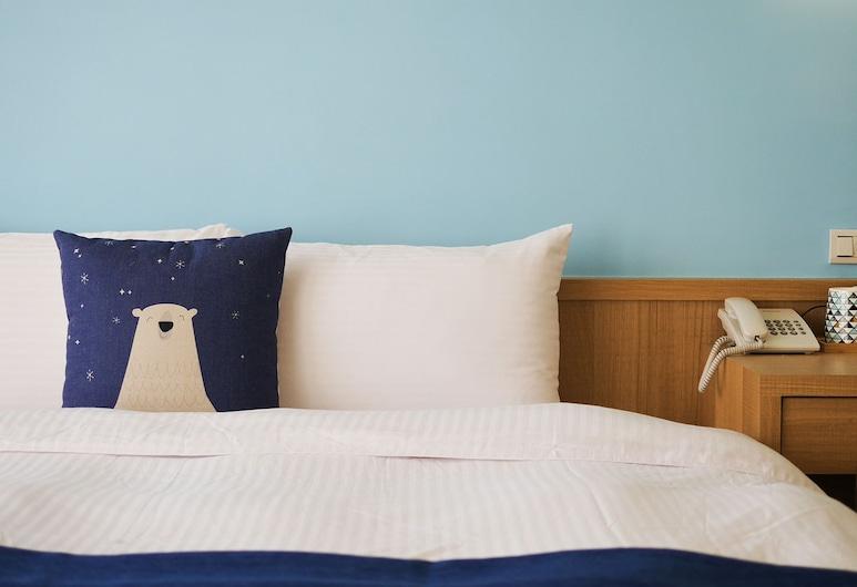 喜莯民宿, 魚池鄉, 時尚雙人房, 1 張加大雙人床, 無障礙, 客房