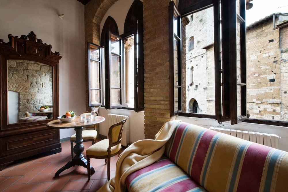 Chambre Double Romantique, 1 chambre, non-fumeurs - Coin séjour