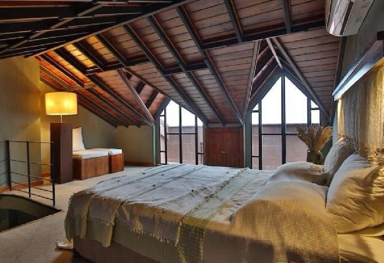 The Green Goose Hotel, Datça, Executive Çatı Katı Süiti (Penthouse), Balkon, Oda