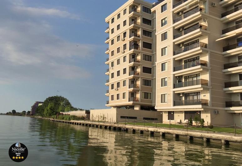 Deluxe Nicolle Solid Residence Mamaia, Constanta, Appartamento Deluxe, 2 camere da letto, vista lago, lato lago, Camera