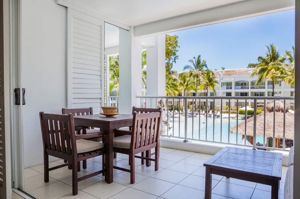 公寓, 2 間臥室, 露台, 泳池景 - 露台