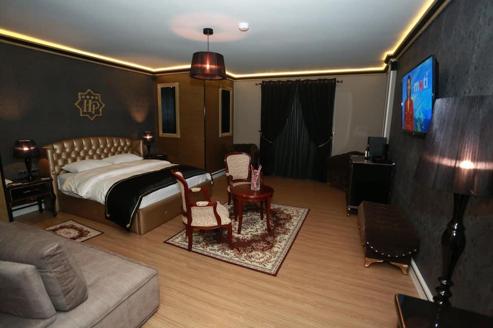 Deluxe King Suite - Ruang Keluarga