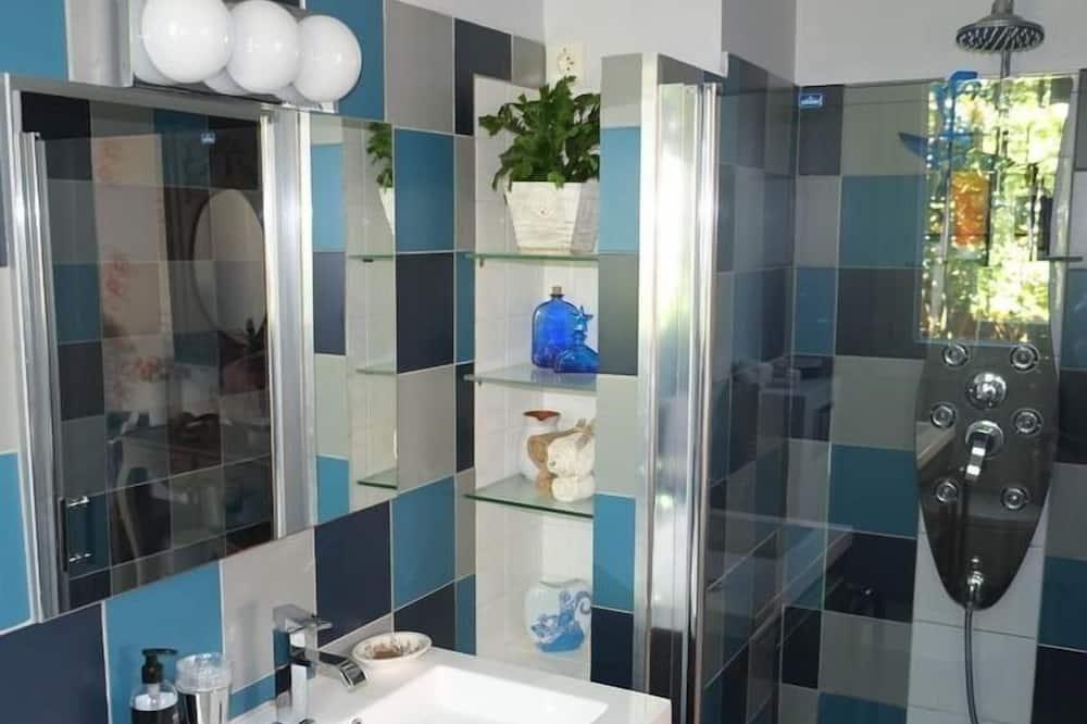Chambre Double, salle de bains privée (Les Mots de Coeur) - Salle de bain