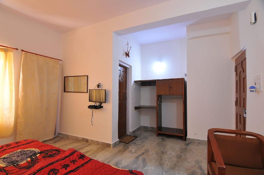 豪華雙人房單人入住, 1 張標準雙人床, 吸煙房, 私人浴室 - 客廳