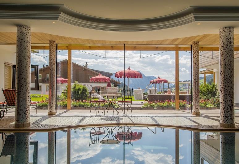 Hotel Welponer Beauty & Relax, Selva di Val Gardena, Innendørsbasseng