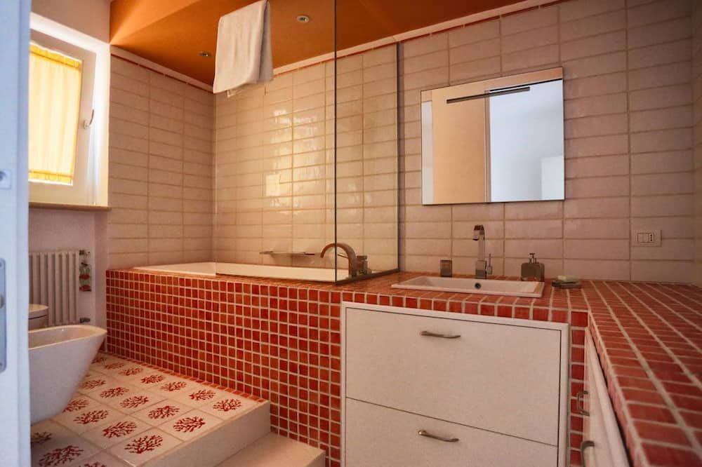 Exclusive-Zimmer, 1 Schlafzimmer - Badezimmer