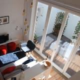 Premium-huoneisto, 2 makuuhuonetta, Terassi - Olohuone