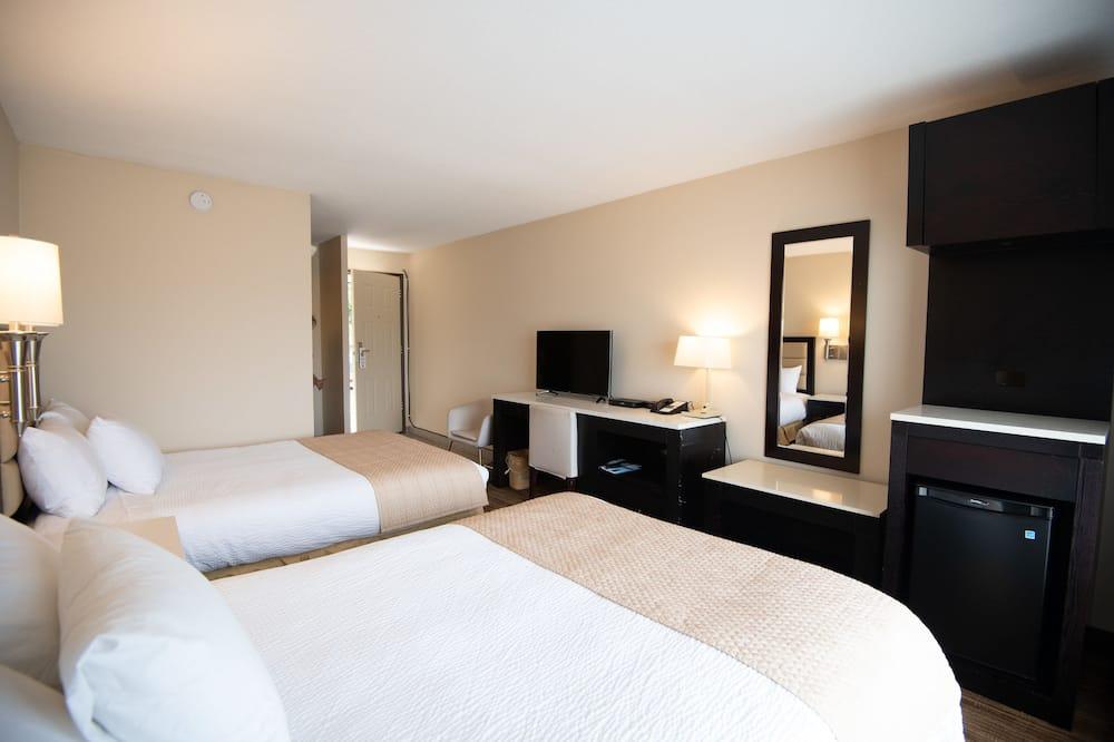 Standard-Doppelzimmer zur Einzelnutzung, 2Doppelbetten, Nichtraucher - Zimmer