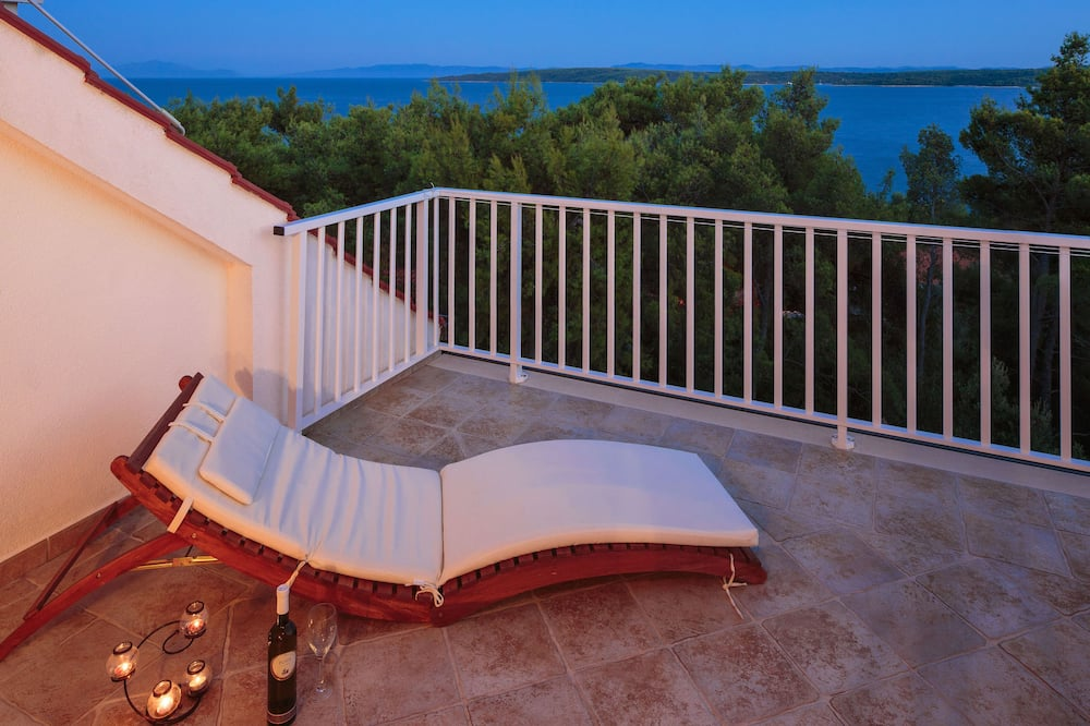 Lägenhet Comfort - havsutsikt - Balkong