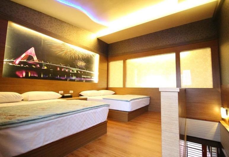 Seashoy BnB, Liuqiu, חדר משפחתי, חדר אורחים