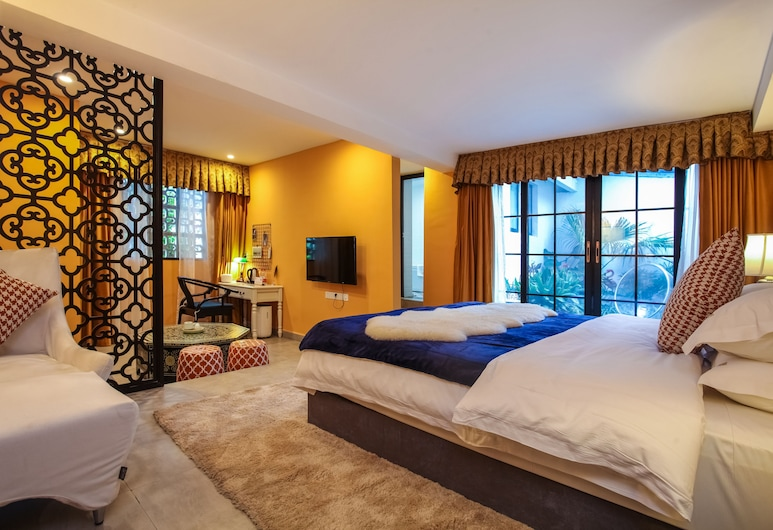 Guilin Inshare No.9 Garden Villa, Guilin, Double Room, 1 Bedroom, Guest Room