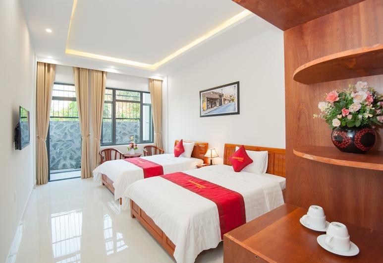 An Bang Golden Beach Villa, Hoi An, Quarto Duplo Deluxe, Quarto