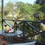 Panoramic bangalo, 4 magamistoaga, vaade viinamarjaistandusele, asukoht aias / aiapoolne - Terrass