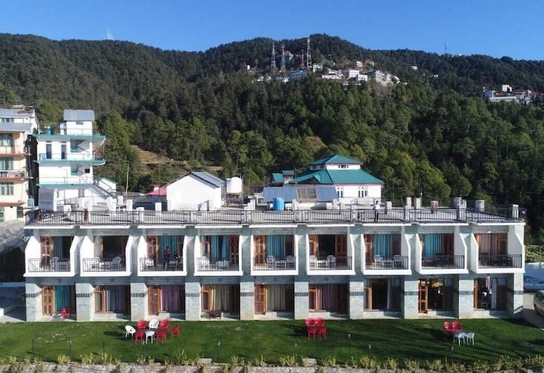 Mountain View Resort, Kandaghat, Viešbučio fasadas