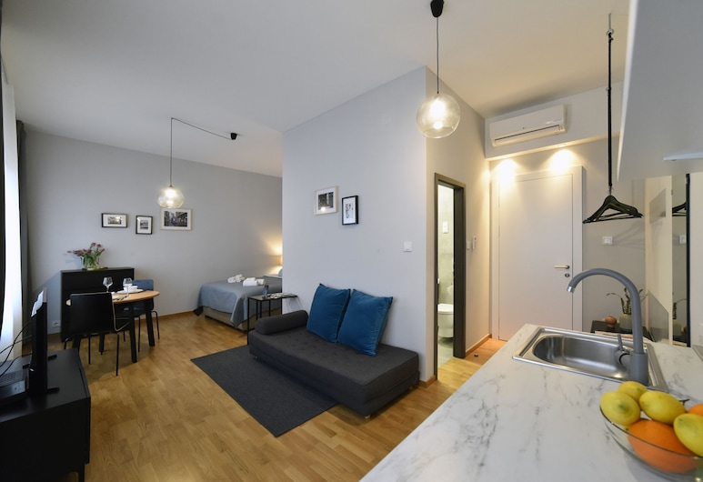 Premium Zagreb Delux Suite and Rooms, Zagreb, Studio Apartment, Oda