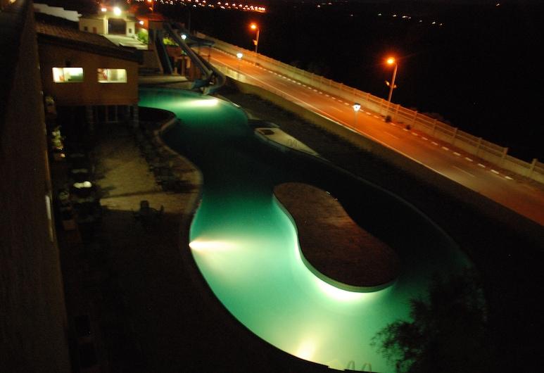 New Beach Hotel & Thalasso, El Ansser, Välibassein