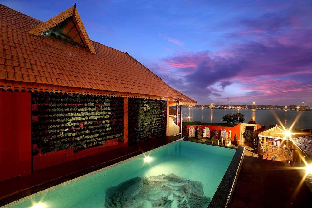 Luxury Σουίτα, 1 Υπνοδωμάτιο, Μερική Θέα στη Θάλασσα - Θέα στην παραλία/θάλασσα
