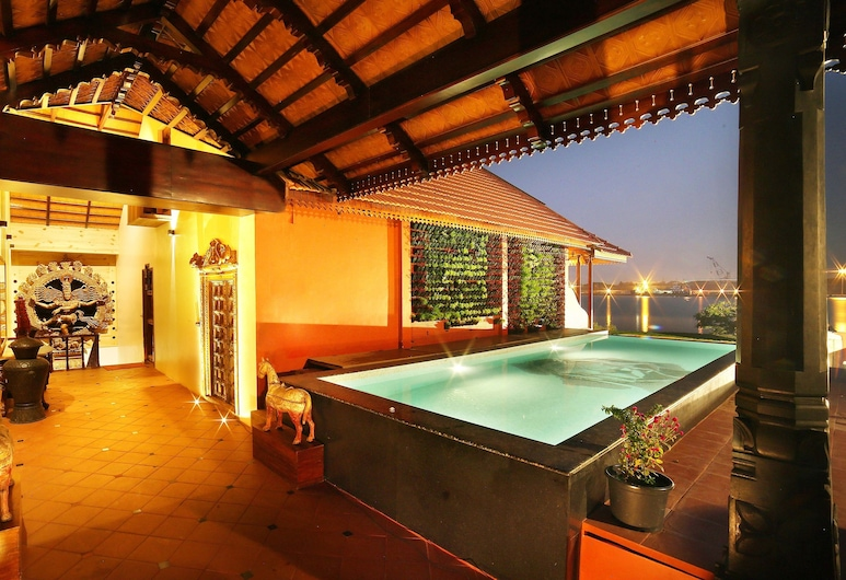 GINGER HOUSE MUSEUM HOTEL, Kochi, Deluxe Double Room, 1 Bedroom, Annex Building, Indoor/Outdoor Pool