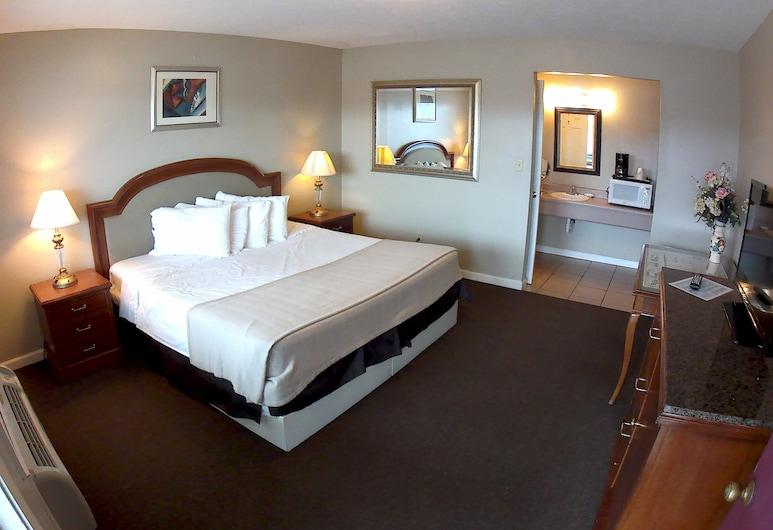 肯塔基斯普林斯汽车旅馆, 拉塞尔斯普林斯, 客房, 1 张特大床, 无烟房, 微波炉, 客房