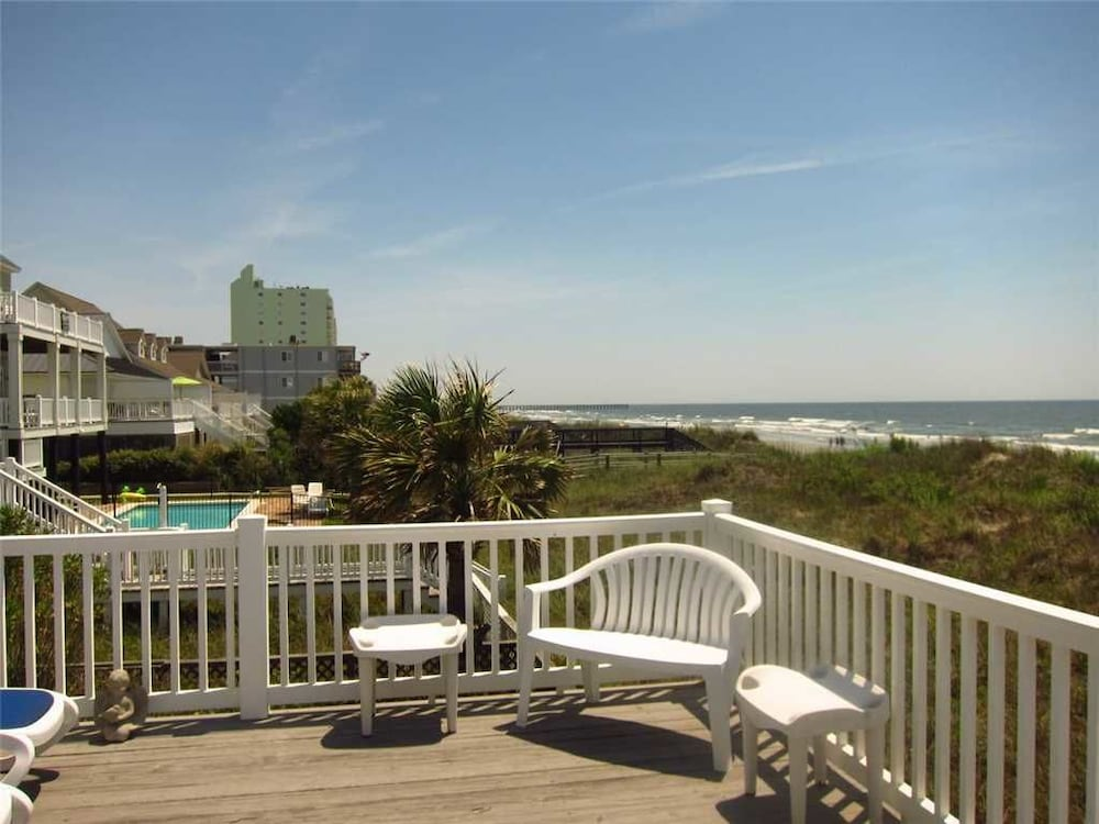Gray Dolphin Ii 4 Bedrooms 2 Bathrooms Home North Myrtle Beach Balcony