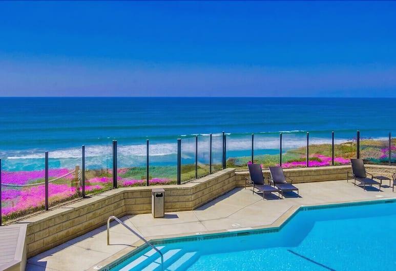 Livin' The Dream - 2br Oceanfront 2 Bedroom Condo, Solana Beach, Appartement, 2 slaapkamers, Zwembad