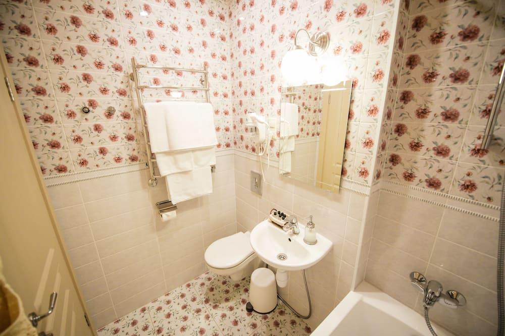 Numeris, 1 miegamasis - Vonios kambarys