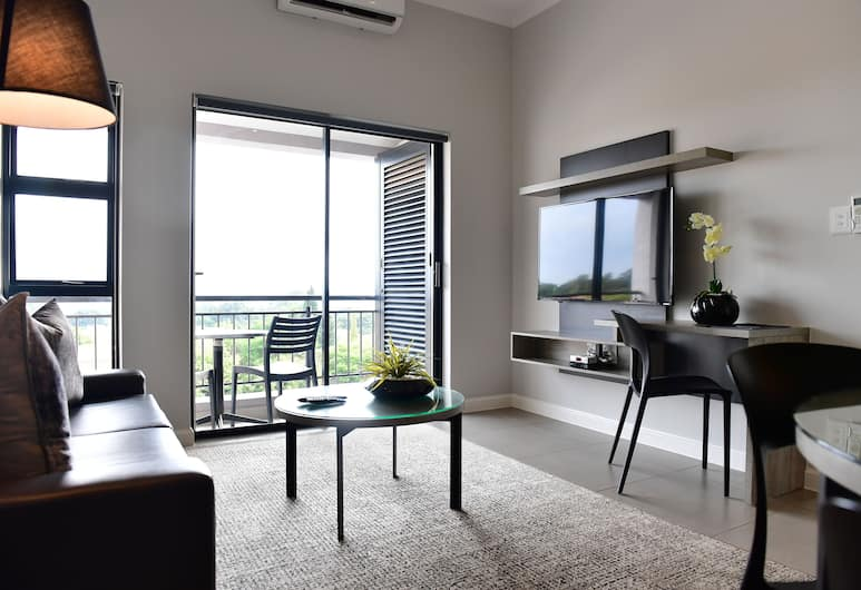 Enigma Hotel Apartments, Sandton, One Bedroom Apartment , Living Room