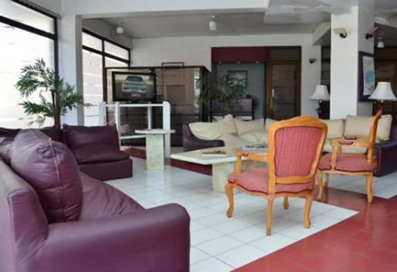Hotel Charlie Inn, Iquique, Sitzecke in der Lobby