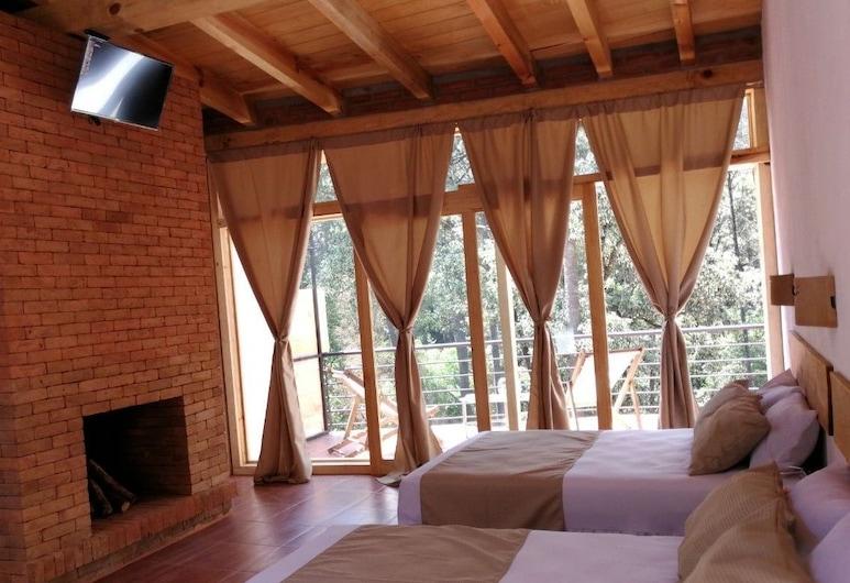 Hotel Encino, Valle de Bravo, Vasarnamis, Svečių kambarys