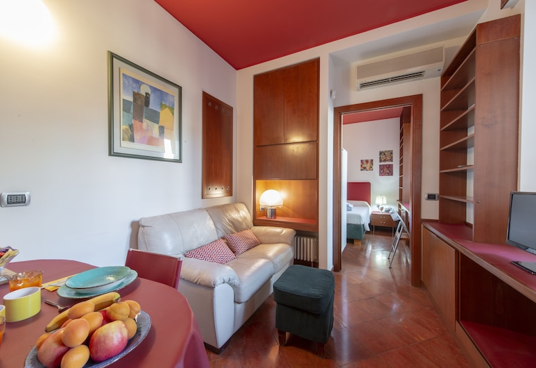 Bn버틀러 - 두오모 아파트먼트 - 산토 스테파노, 밀라노, 아파트, 침실 1개, 거실 공간