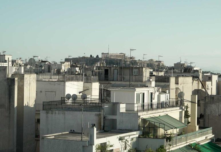 Rooftop Infinite Athens View Apt, Atenas, Apartamento, Terraço/pátio