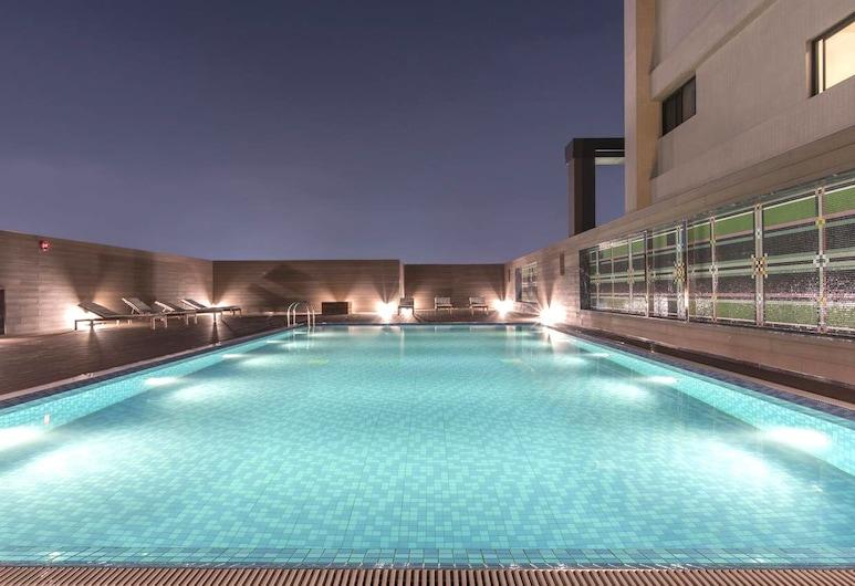 薆悅酒店五權館, 台中市, 頂樓游泳池