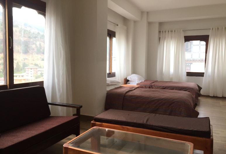 Choni Apartment, Thimphu, Suite monolocale Deluxe, Camera