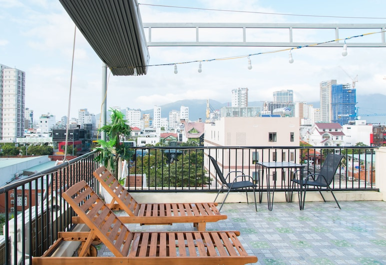 金盞花公寓飯店, 峴港, 露台