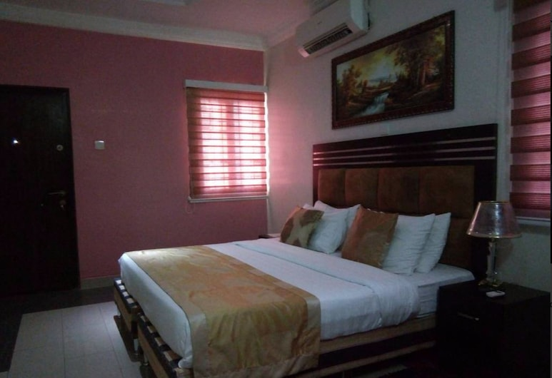Crown Apartments Extended Stay Suites, Abuja, Izba typu Basic, Hosťovská izba