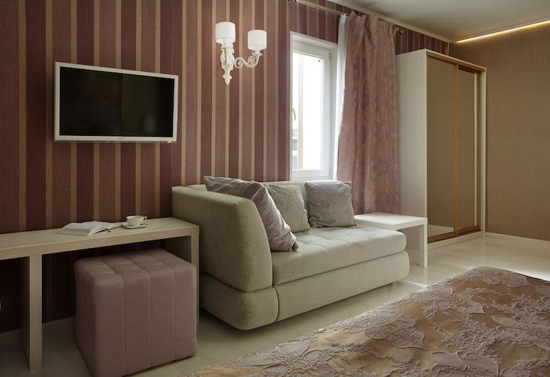 米提諾小浣熊飯店, 莫斯科, 豪華客房, 客廳