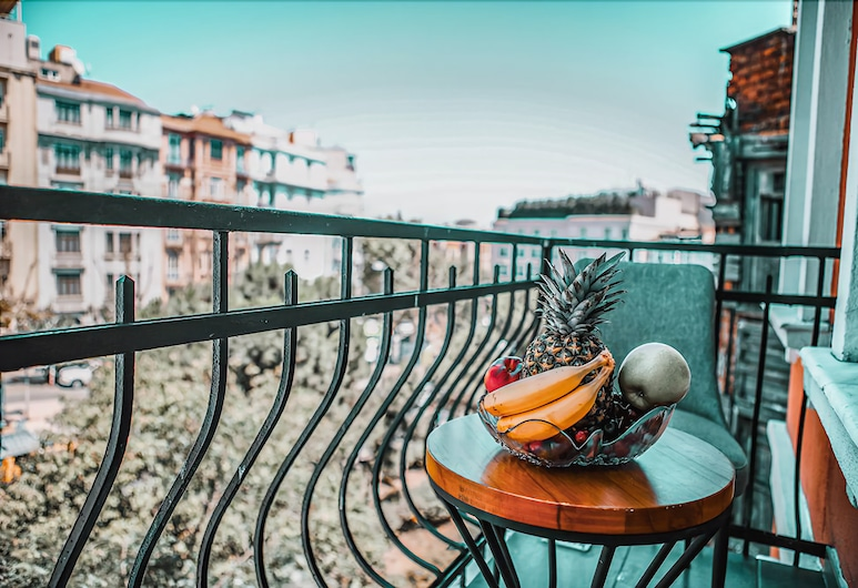 Juno Hotel Taksim, İstanbul, Superior Oda, Balkon, Balkon